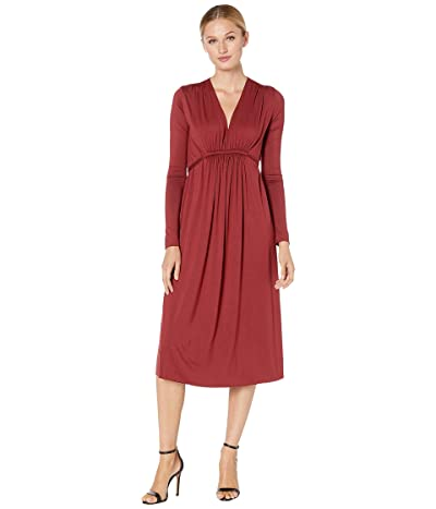 Rachel Pally Jersey Long Sleeve Mid-Length Caftan (Gamay) Women