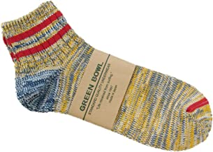 (グリーンボウル)GREEN BOWL Men's Short Socks(Standard)/ショートソックス L