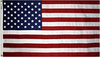 6x10 Foot Annin U.S. American Flag Tough-Tex 2 Ply Poly Commercial Embroidered Stars