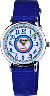 Child Time Teacher Watch Little Girls Kids Waterproof Analogue Quartz Purple Wrist Watches with Lovely 3D Butterfly Strap