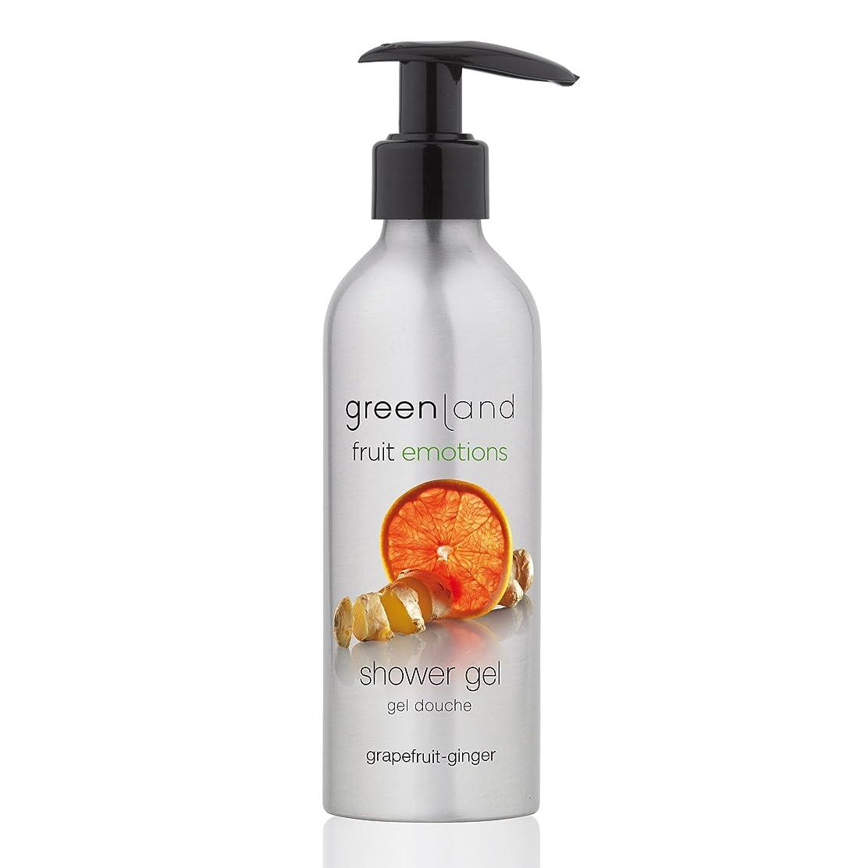 交渉するシャッター眠っているgreenland [FruitEmotions] シャワージェル 200ml グレープフルーツ&ジンジャー FE0215