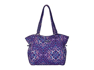Vera Bradley Iconic Glenna Satchel (Regal Rosette) Bags