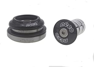 "NECO 1.5 Head Tube Reduced to 1.25/"" Fork Tube 47-52.2mm Integrated Bike Headset"