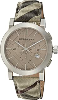 Burberry Casual Watch For Unisex Analog Leather
