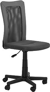 IDIMEX Chaise de Bureau pour Enfant BALOU Fauteuil pivotant Ergonomique avec roulettes, siège à Hauteur réglable, revêteme...