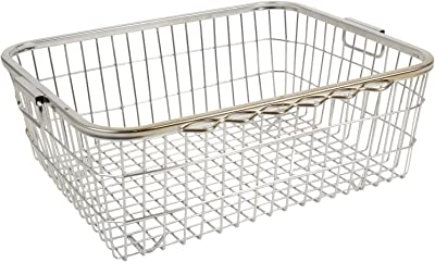 PARASNATH Stainless Steel Dish Drainer N0.3 Tokra Large (60 Cm X 48 Cm X 18 Cm)