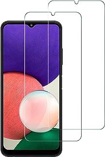 AFGLOOY 2 Pack ، متوافق مع Samsung Galaxy A22 4G (6.4 بوصة) - واقي شاشة Gallaxy A31 - M32 ، زجاج مقسّى لهاتف Galaxy A22 4G...