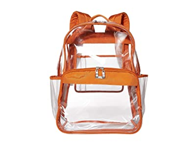 Baggallini Clear Event Compliant Large Backpack (Orange) Backpack Bags