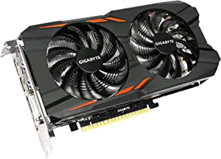 Gigabyte Technology GeForce GTX 1050 Ti Windforce OC 4G GV-N105TWF2OC-4GD, Negro