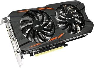 Gigabyte Technology GeForce GTX 1050 Ti Windforce OC 4G GV-N105TWF2OC-4GD, Negro