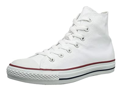 Converse Chuck Taylor(r) All Star(r) Core Hi SINGLE SHOE (Optical White) Shoes