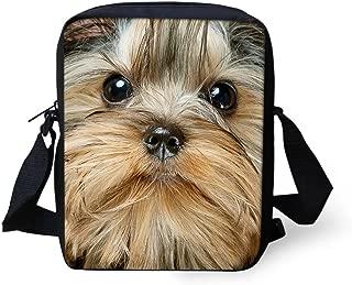UNICEU Yorkshire terrier Print Small Wallet Women Kids Sling Messenger Handbag