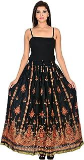 Generic Women'S Black Skirts(Jiskrt-111_Black_42W X 40L)