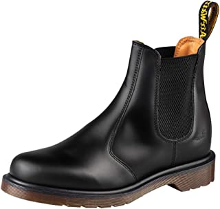 Dr. Martens, 2976 Leather Chelsea Boot for Men and Women, Cherry Red Smooth, 12 US Women/11 US Men