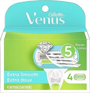 Venus Extra Smooth Women's Razor Blade - 4 Refills