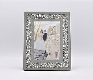 Aura & Co Audrey Glass Photo Frame, 4 Inch x 6 Inch Size
