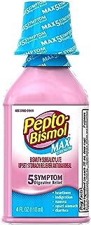 Pepto-Bismol Max Strength Liquid 4 oz (Pack of 3)