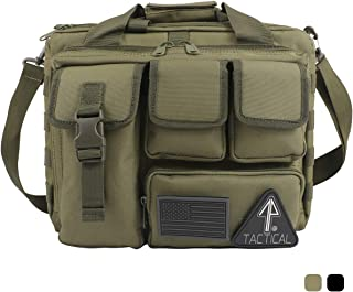 14er Tactical Range Bag | Custom Pistol & Ammo Pockets | 600D Ballistic Polyester & Self-Healing Zippers | Flag Patch & MOLLE Compatible PALS Webbing | Perfect Shooting Duffle