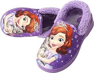 Joah Store Sofia Clover Girl's Warm Fur Purple Comfort Indoor Slipper Shoes (Parallel Import/Generic Product)
