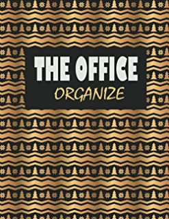 Office Organizer Plans: Premium Personal Planner Organizer, Office Work Journal, 120 Pages for Daily Tasks, Notes (8.5''x1...