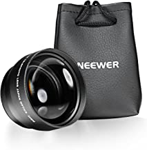 Neewer 2.2X Telephoto Lens with Microfiber Cleaning Cloth for Canon (52mm)