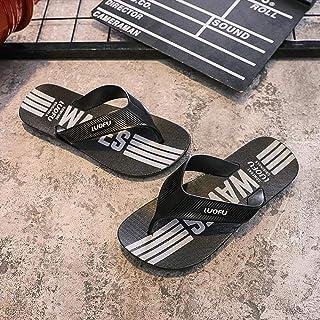 B/H Sandales Natation Homme,Tongs Plates-Formes de Salle de Bain antidérapantes, Tongs de Grande Taille et Chaussures de P...