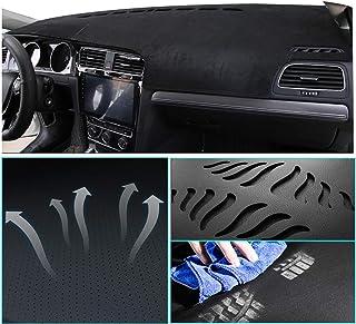 Muchkey Custom Dash Board Cover Mat for BMW X6 F16 E71 2020 Carpet Dashboard Cover Protector Easy Installation Black