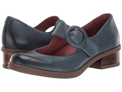 Dansko Brandy (Teal Waterproof Burnished) Women