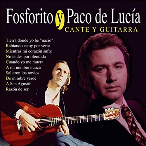 Cante y Guitarra de Fosforito, Paco de Lucía en Amazon Music ...