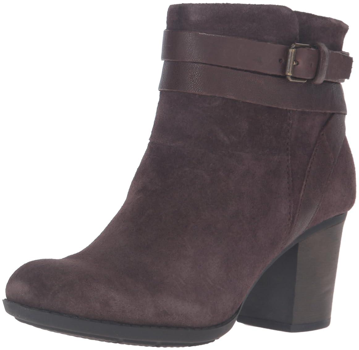 繁雑乱気流原子炉[クラークス] Womens enfield river Almond Toe Ankle Fashion Boots [並行輸入品]