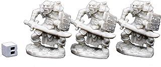 دروگر 77019: Orc Swordsman (3) Minights Mini Plastics Bones Heaven Bones