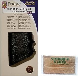 Nimrod's Wares Pachmayr Model #3 Slip-On Grip Glove for Beretta 92 & PX-4 Storm Microfiber Cloth