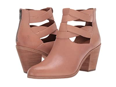 Frye Cameron Twist Bootie (Pale Blush Vintage Veg Tan) Women