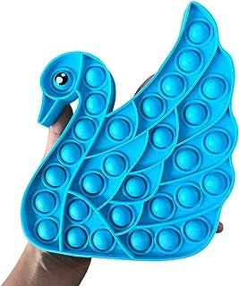 BULINGNA Animal Sensory Push Popper Fidget Toys Turtle Dog Pop Its Mouse Bubbles Silicone Fidgets Dimple for Stress Autism...