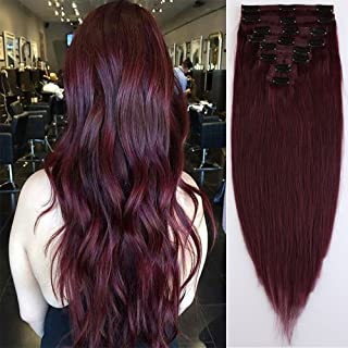 Best red human hair weft Reviews