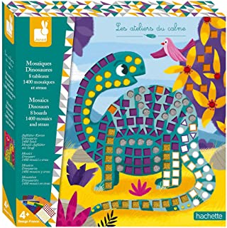 Janod J07903 Kit Créatif - Mosaïques Dinosaures