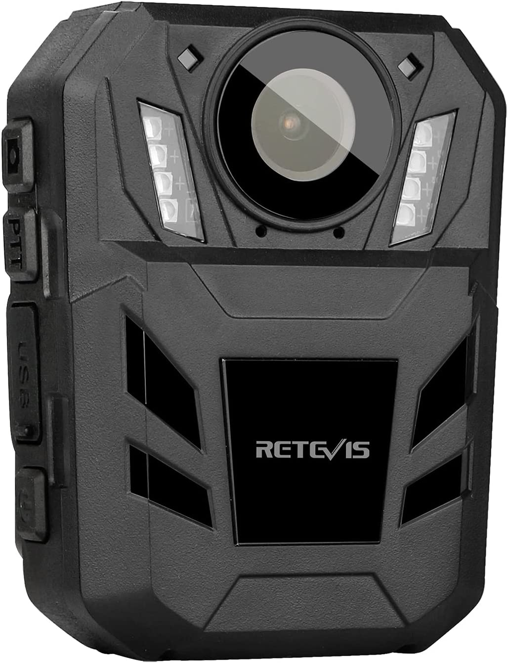 Retevis RT77B Body Camera with Audio Recording Wearable,1440HD,4000mAh,32GB, Personal Camera Wearable Body with Audio for Police,Girl,Safety(1 Pack)