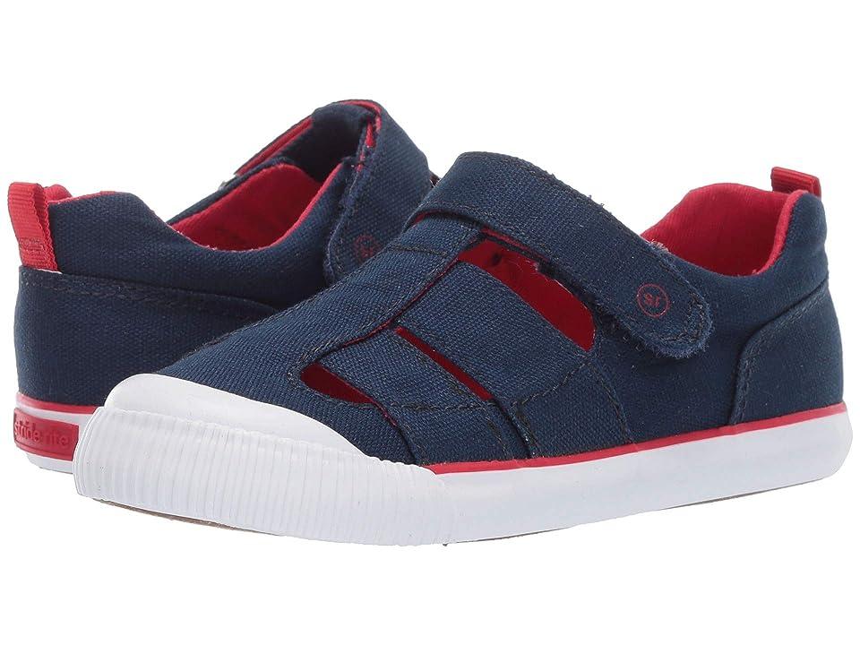 Stride Rite SR Hadley (Toddler) (Navy) Kids Shoes