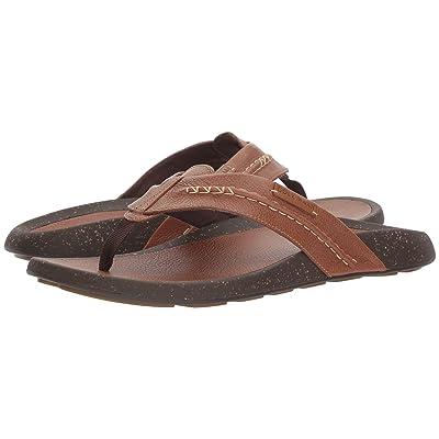 Cole Haan Brady Thong Sandal (British Tan Leather) Men