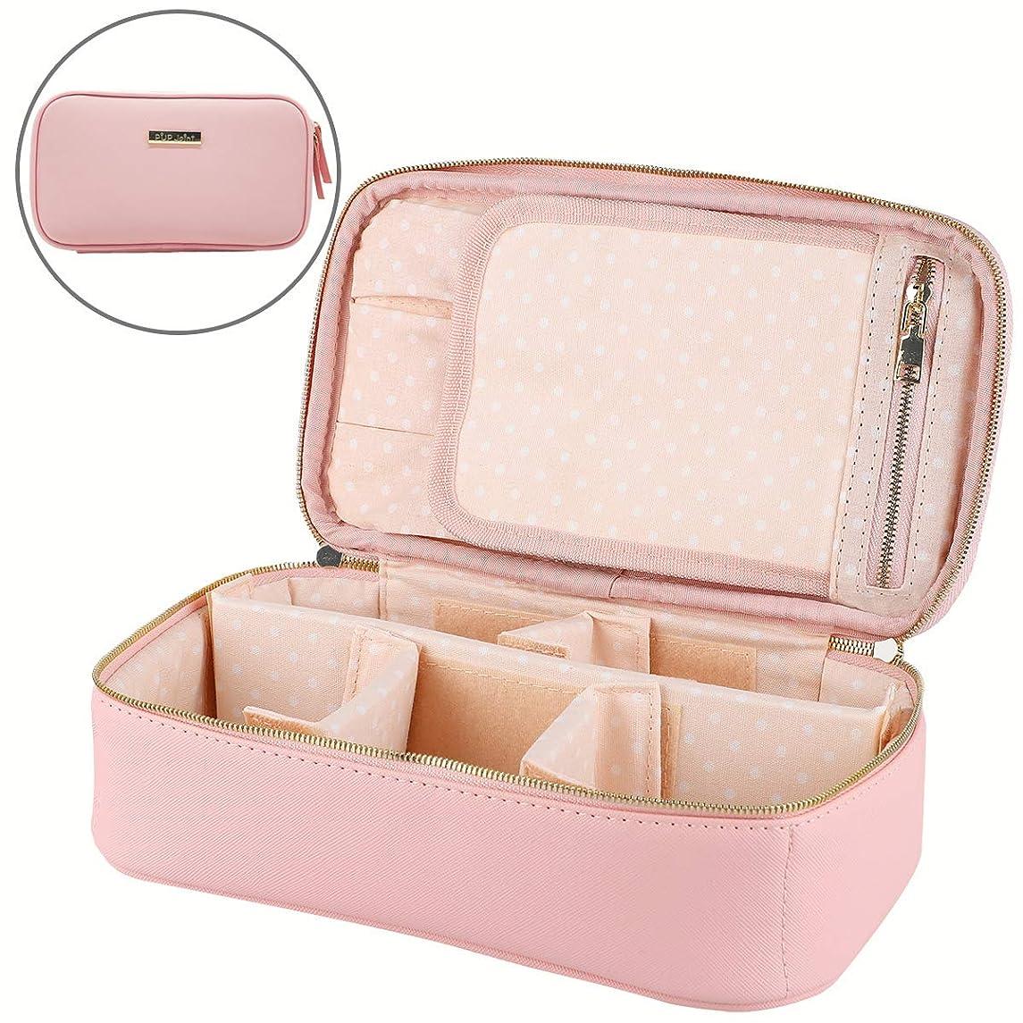 資源シェル気質PUP Joint 化粧ポーチ メイクボックス 收納抜群 大容量 可愛い 化粧バッグ 可愛い 旅行 家用に大活躍な化粧箱