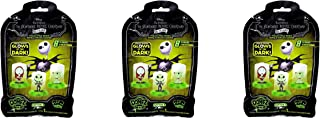 Zag Toys Nightmare Before Christmas - Glow in The Dark - DOMEZ Blind Bag LOT (3)