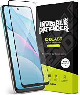 【Ringke】Xiaomi Mi 10T Lite 5G / Mi 10i 5G フィルム 6.1インチ 強化 ガラス 液晶保護 フィルム 硬度9H 2.5D エッジ HDディスプレイ [Invisible Defender Tempered...