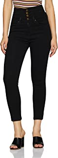 AKA CHIC Women's High Rise Slim Fit Jeans