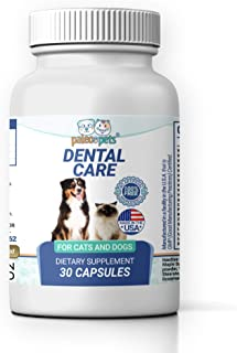 PALEO PETS Dog and Cat Dental Care Supplement - Natural Dental Supplements for Dogs and Cats