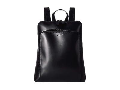 Lodis Accessories Audrey RFID Ryder Tote Backpack (Black/Black) Backpack Bags