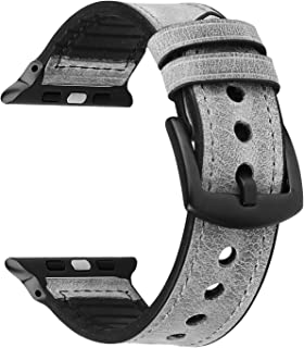 TOOGOO Watch Strap for Watch 1 2 3 4 Strap Women's Fashion Wrist Bracelet for IWatch 38Mm 40Mm Watchband Gray