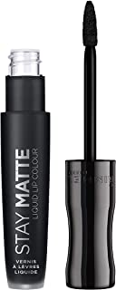 Rimmel London Stay Matte Liquid Lip Colour - Pitch Black