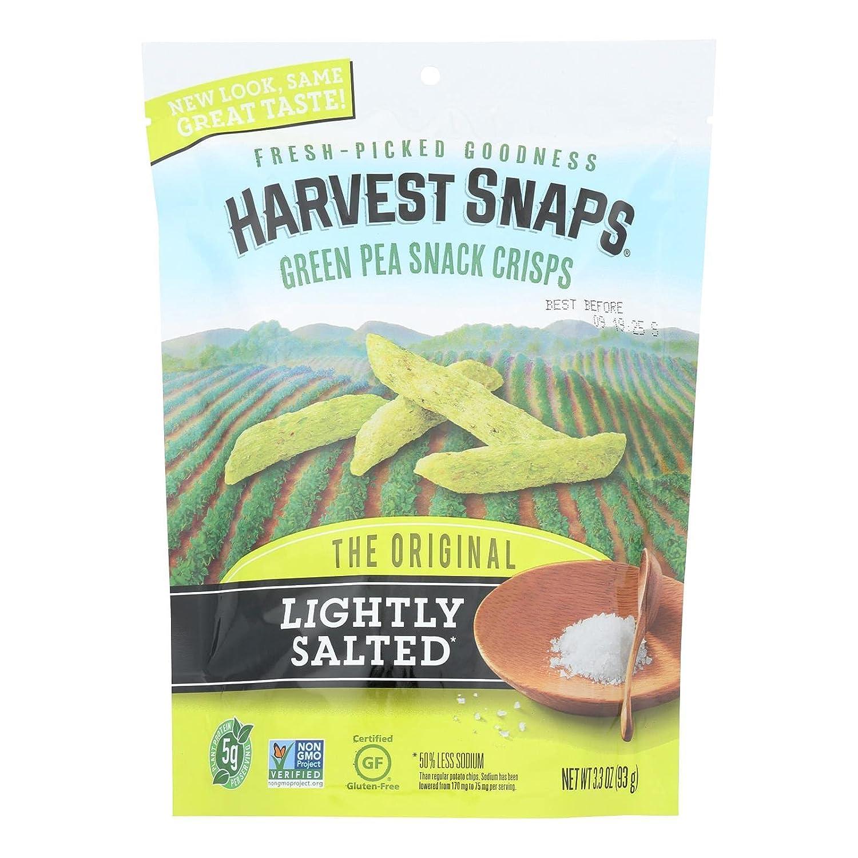 Calbee Harvest Elegant Snaps Wholesale Snapea Crisps - Salted 12 of Case Lightly
