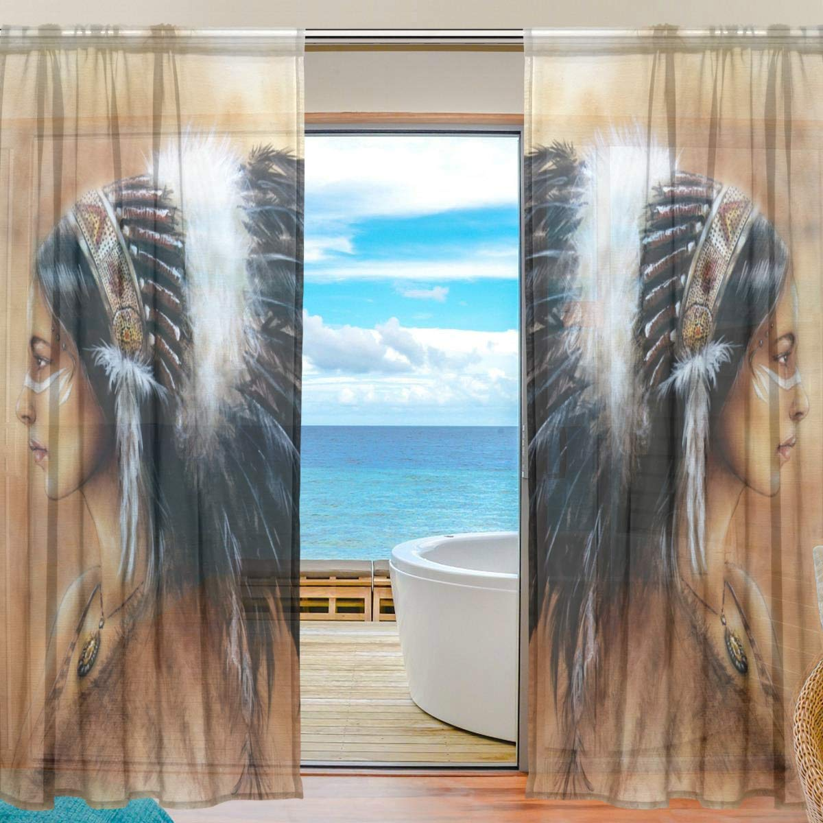 Dream Catcher Curtain Panels