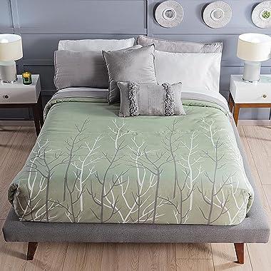Sage Green Reversible Light Comforter 1 Piece King